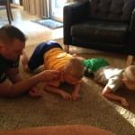 Practicing rocking and crawling