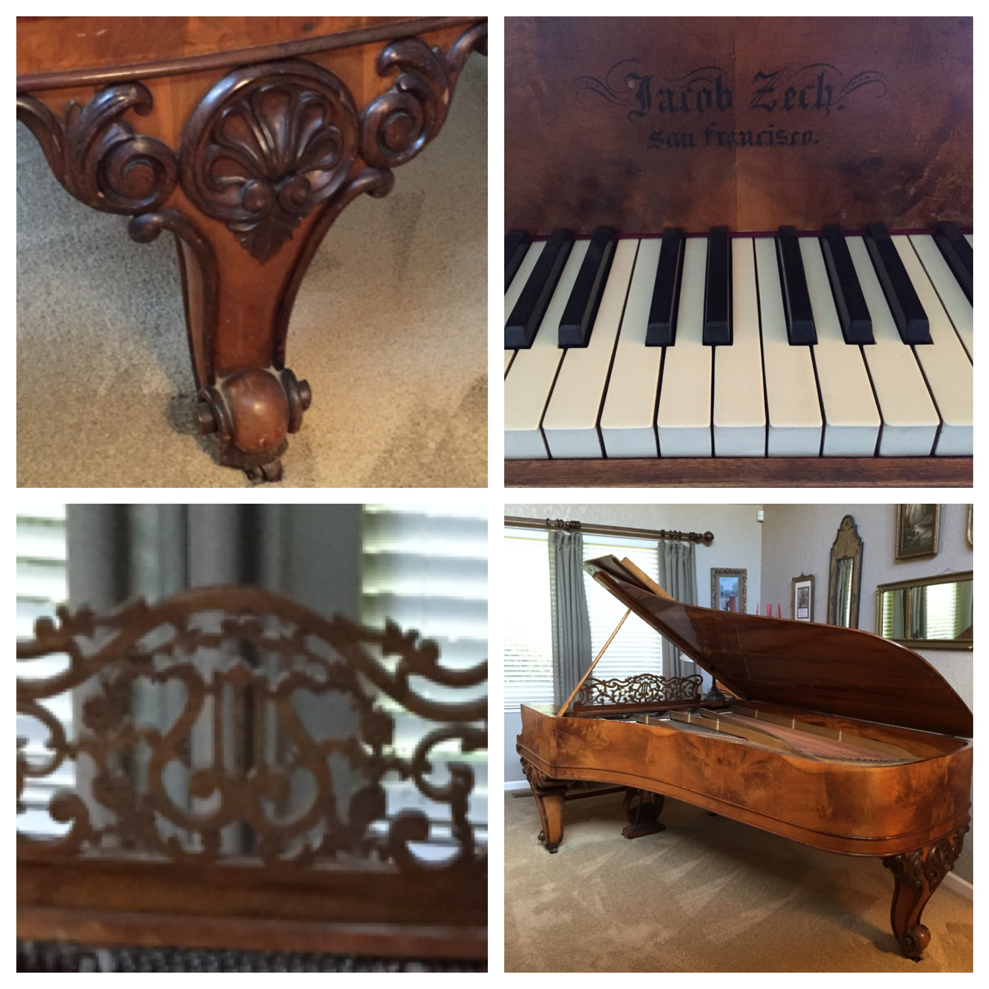 A tale of two pianos for 1800 sq ft piano piano aperto